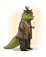 Dino P.I. by bearmantooth