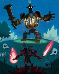 Boss Fight! by bearmantooth