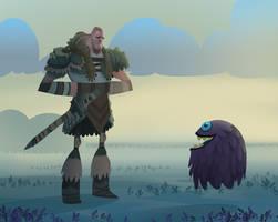 Warrior by bearmantooth