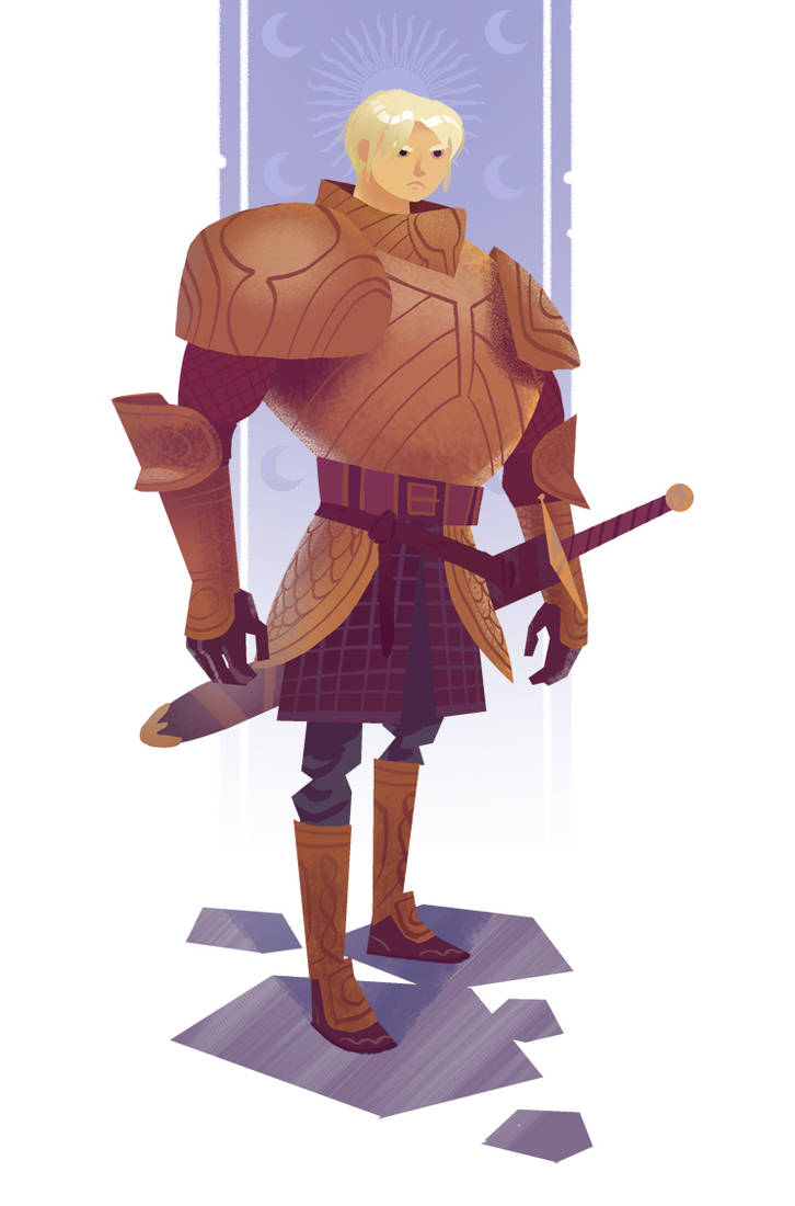 Brienne of Tarth by bearmantooth
