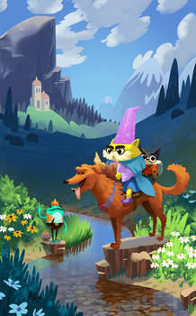 Wizard Cats!