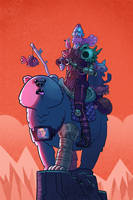 Bear Rider by bearmantooth