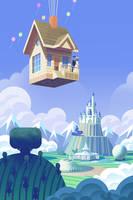 Disney World Wedding by bearmantooth