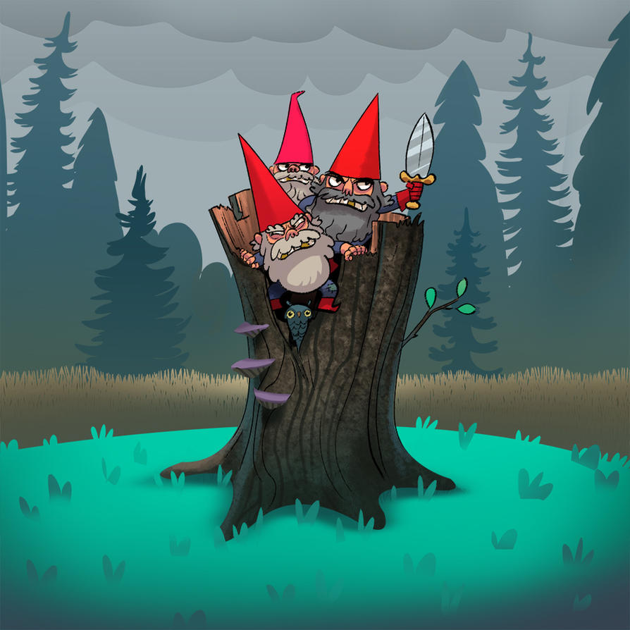 Gnomes by bear65