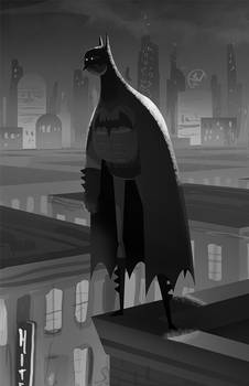 Batman- Black n' White