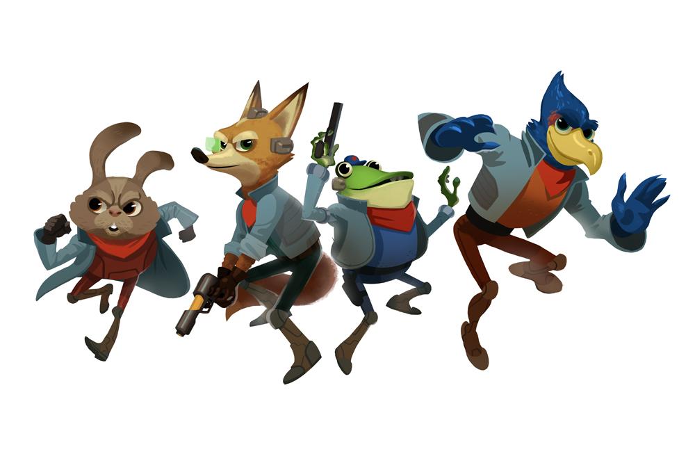 Star Fox Bros by bearmantooth