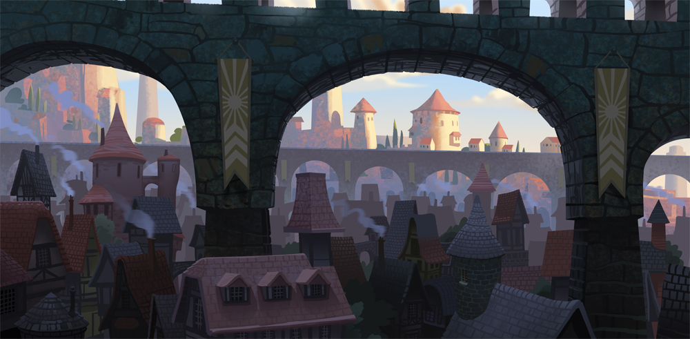 The City of Long Shadows- Weep for Day by bearmantooth