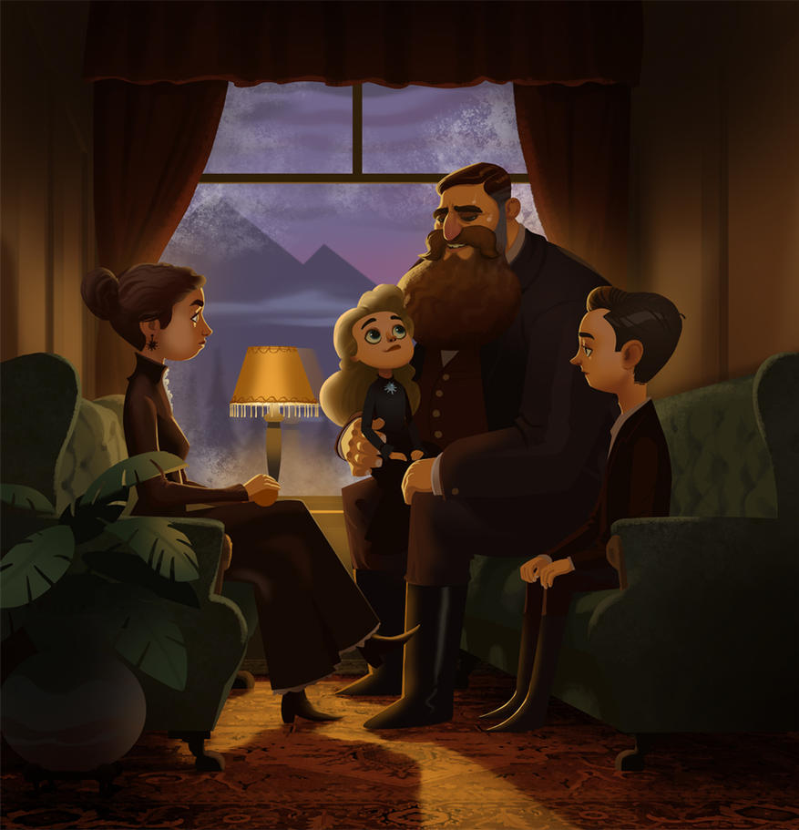 Weep for Day- Family Time on the Train by bearmantooth