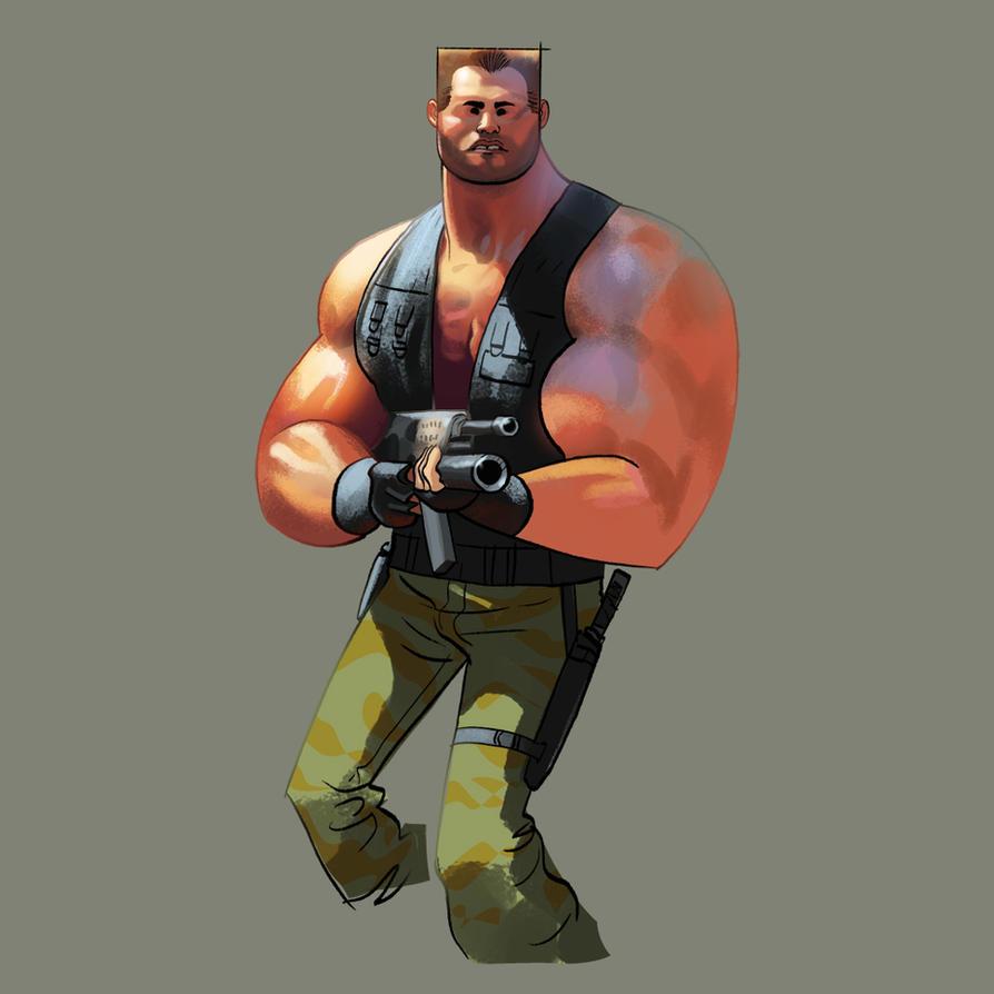 Arnie by bearmantooth