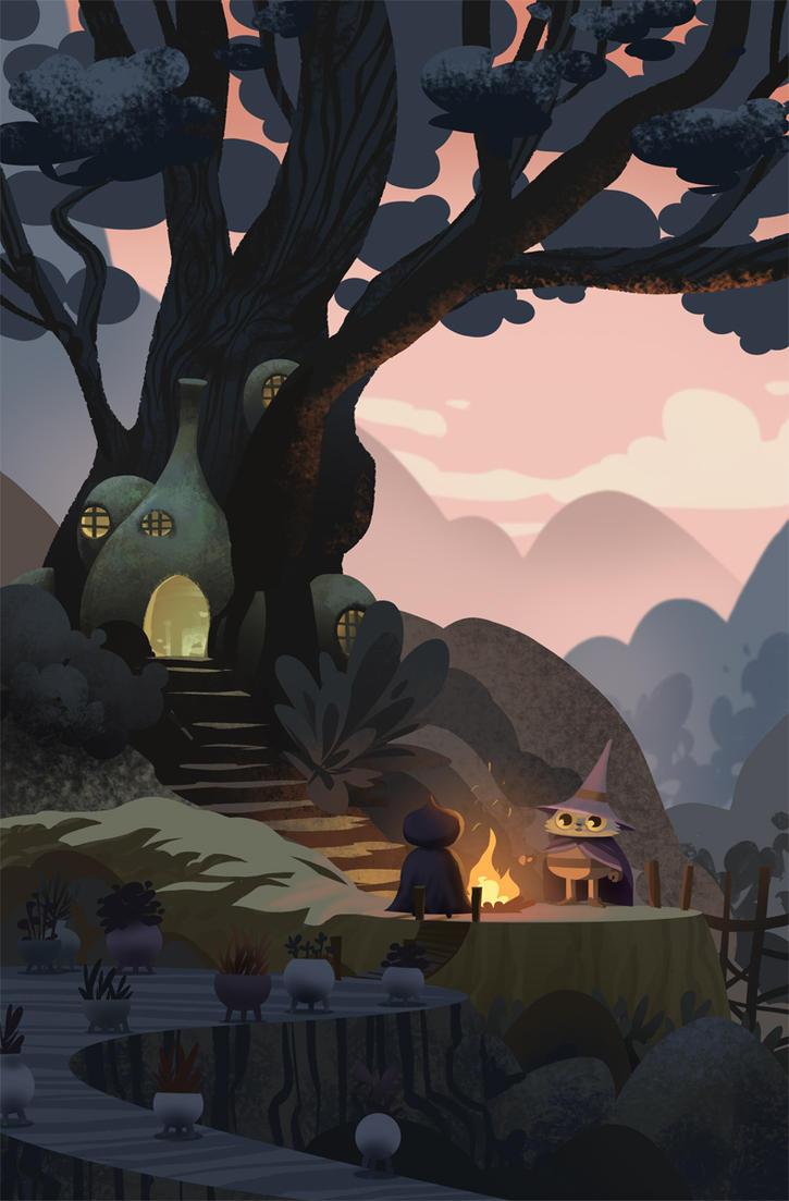 Tree House by bearmantooth