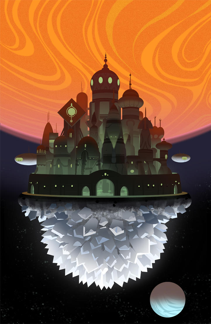 Asteroid City by bearmantooth