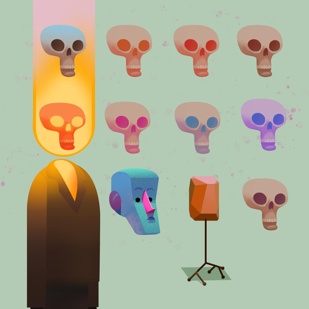 Ghost Rider explorations by bearmantooth