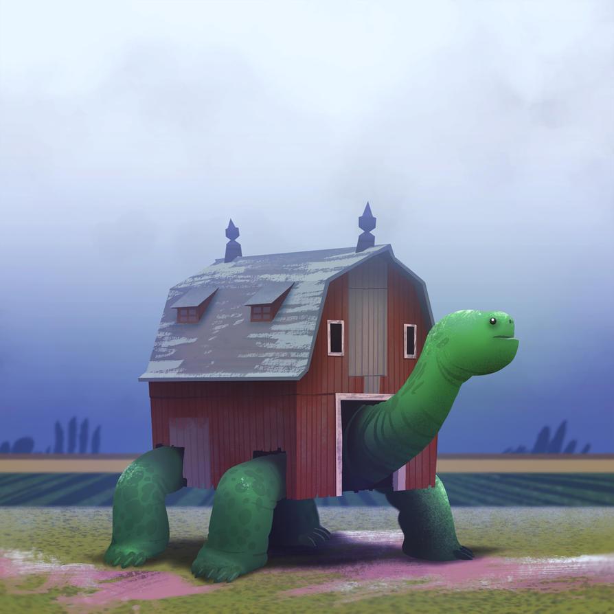 Barn Tortoise by bearmantooth