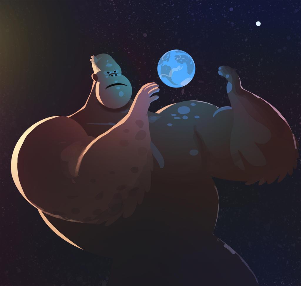 King Kong 2 by bearmantooth