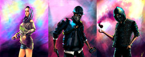 Watch Dogs 2 fanart - The DedSec Squad