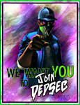 Watch Dogs 2 fanart - Join DedSec poster