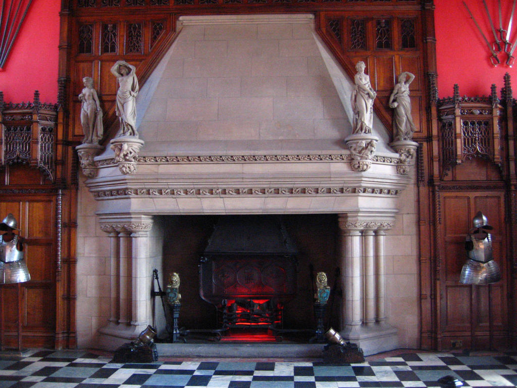 Castle interior by elizatibbits stock on deviantart for Room interior design edinburgh