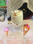 Ice Cream Lovers! (Cheesecake Milkshake)
