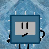 Electro Chip Voting Icon