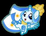 Princess Argenta filly happy