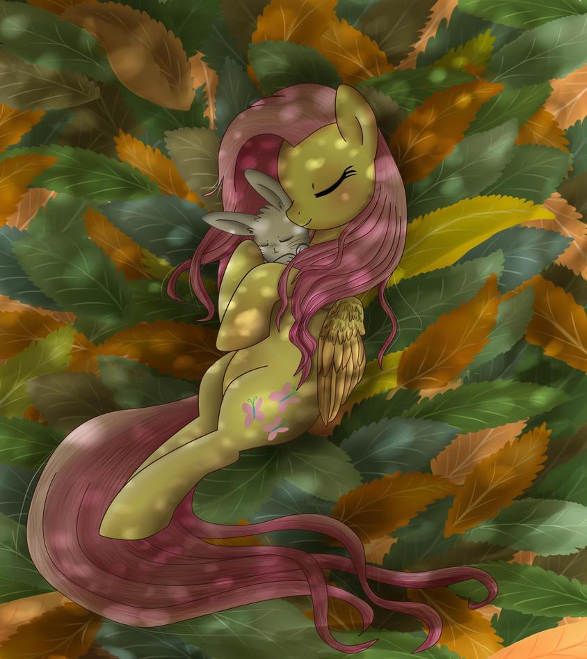 Leaf Bed by pridark