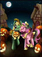 Comm: Nightmare night together by pridark