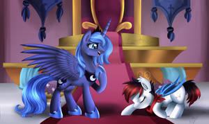 Comm: Return of the princess