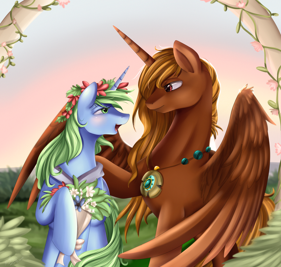 Comm:The special day by pridark