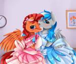 Comm: Cutie Stallions