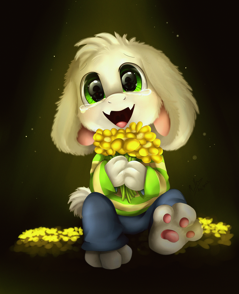 Crying Asriel by VagabondWolves on DeviantArt