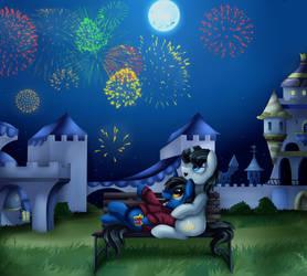 Comm: Fireworks by pridark