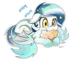 Comm: Nom Muffin by pridark