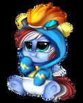 Comm: Blue heart