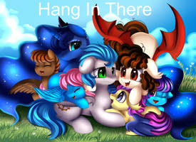 Comm: Hang in there by pridark