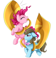<b>Comm: Pinkie And Beauty Brass</b><br><i>pridark</i>