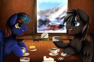 Comm: Coffee for two by pridark