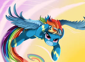 Comm: Rainbowbolt by pridark