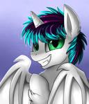 Portrait Comm: Batty Smile
