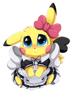<b>Comm: Pika Dress</b><br><i>pridark</i>