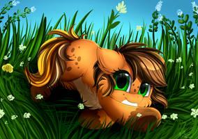 <b>Comm: Comfy Grass</b><br><i>pridark</i>