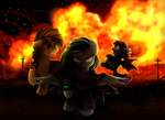 Comm: Cool Mares dont look at explosions
