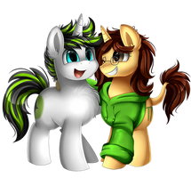 <b>Comm: Best Friends</b><br><i>pridark</i>