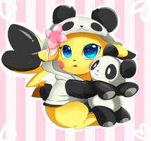 <b>Comm: Pika Panda</b><br><i>pridark</i>