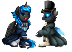 <b>YCH Mansion: Prince Comet And Archex Joined</b><br><i>pridark</i>