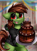 <b>Comm: Happy Birthday Cake</b><br><i>pridark</i>