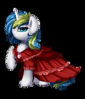 Comm: Dostluk Gala Dress by pridark