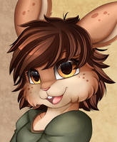 Portrait Comm: Bunny by pridark