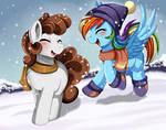Comm: Funny snow