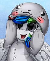 Comm: Seal Hoodie by pridark