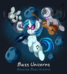 Comm: Bass Ponies by pridark